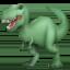 T-Rex Emoji on Facebook