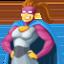 woman superhero Emoji on Facebook