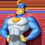 man superhero Emoji on Facebook
