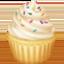 Emoji de magdalena en Facebook