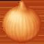 onion Emoji on Facebook