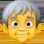older person Emoji on Facebook