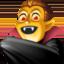 man vampire Emoji on Facebook