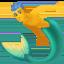 merman Emoji on Facebook