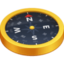 compass Emoji on Facebook