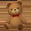 teddy bear Emoji on Facebook