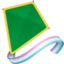 kite Emoji on Facebook