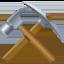 hammer and pick Emoji on Facebook