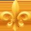 fleur-de-lis Emoji on Facebook