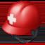 rescue worker's helmet Emoji on Facebook