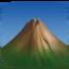 Emoji de montaña en Facebook