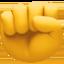 thumbs down Emoji on Facebook