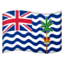 flag: British Indian Ocean Territory Emoji on Android, Google