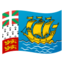 flag: St. Pierre & Miquelon Emoji on Android, Google