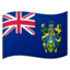 flag: Pitcairn Islands Emoji on Android, Google
