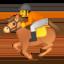 horse racing Emoji on Android, Google