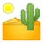 desert Emoji on Android, Google