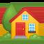 house Emoji on Android, Google