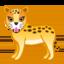 leopard Emoji on Android, Google