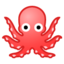 octopus Emoji on Android, Google