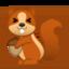 chipmunk Emoji on Android, Google