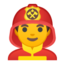 man Emoji on Android, Google