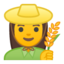 woman Emoji on Android, Google