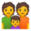 family Emoji on Android, Google