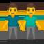 men holding hands Emoji on Android, Google