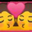 kiss Emoji on Android, Google