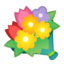 bouquet Emoji on Android, Google