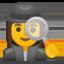woman detective Emoji on Android, Google
