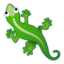 爬行动物上的Android, Google表情符号