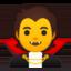 woman fairy Emoji on Android, Google