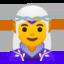 woman elf Emoji on Android, Google