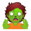 zombie Emoji on Android, Google