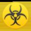 biohazard Emoji on Android, Google
