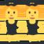 man in suit levitating Emoji on Twitter