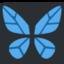 butterfly Emoji on Twitter