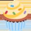 Emoji de magdalena en Twitter